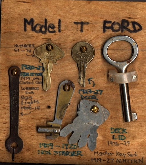 keys again set