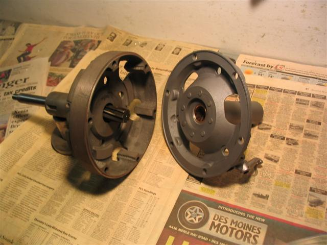 This is a Jig I made, to align Ream the Tail shaft bushing, as out of Ford Service.