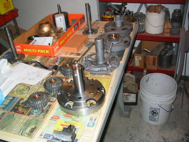 Parts Ready to Machine