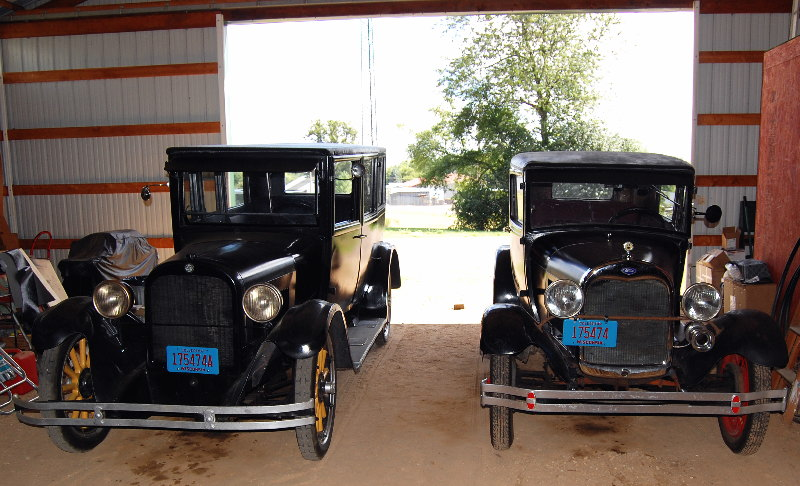 Model A and Dodge