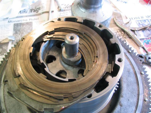 oil clutch plates.
