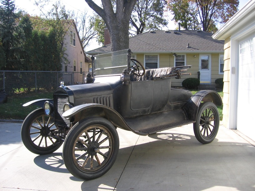 Model T Ford Forum: 1916 T Roadster project for sale. Original engine