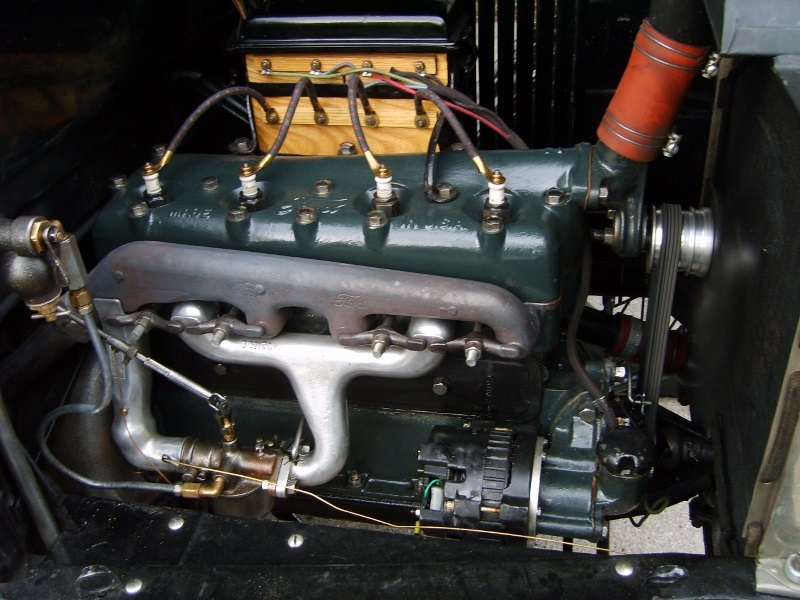 '26 engine Edison plugs