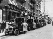 Darracqs taxi New York 1910