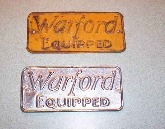 warford plate