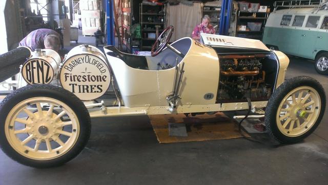 Barney Oldfields Benz Racer