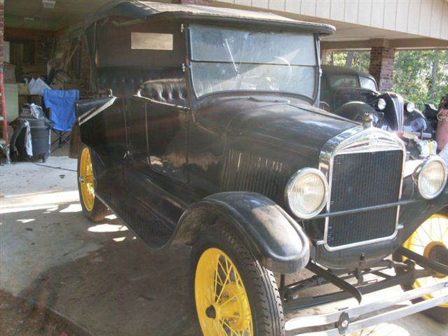 27 model T as bought