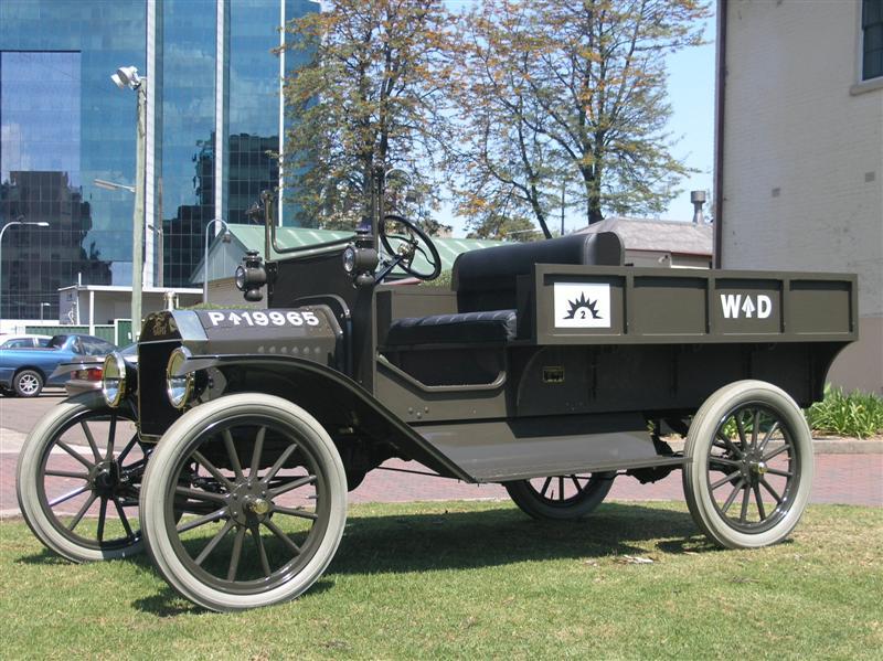 1916 Australian WWI Model T Ford