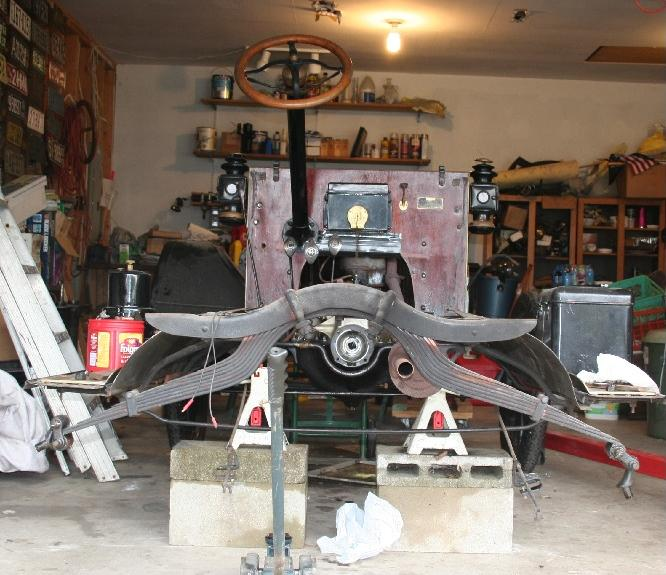 Model T Ford Forum: Removing Rear End