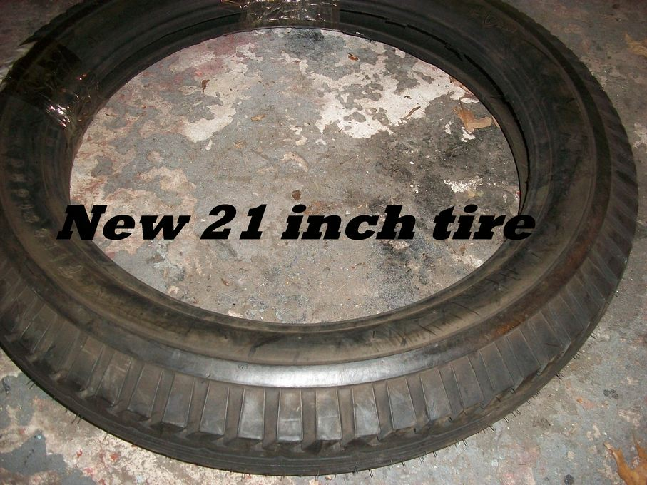 How To Read Tire Size >> Model T Ford Forum: Help with tube and tube liner installation 21 inch split rim