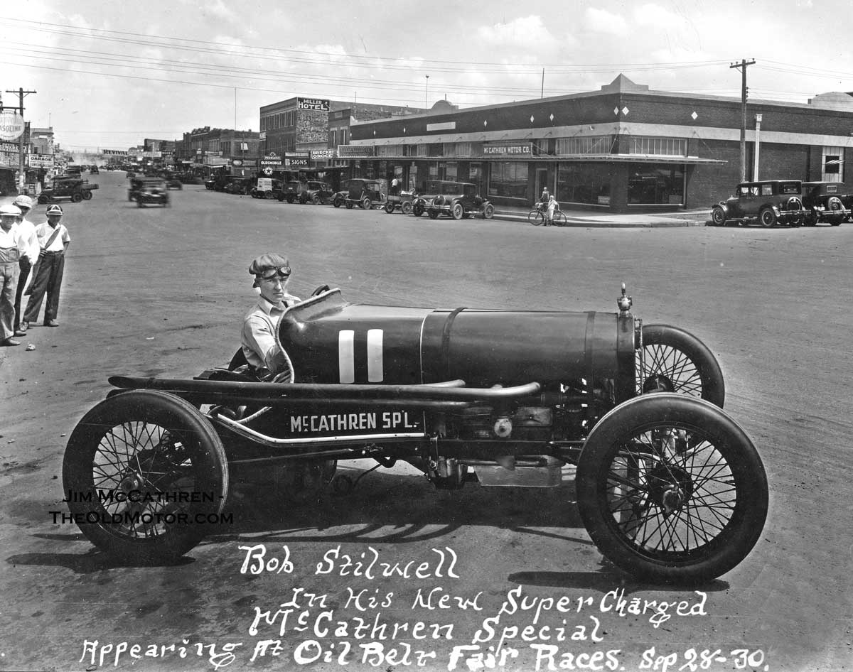 Model T Ford Forum The Supercharged Mccathren Special Racing Car