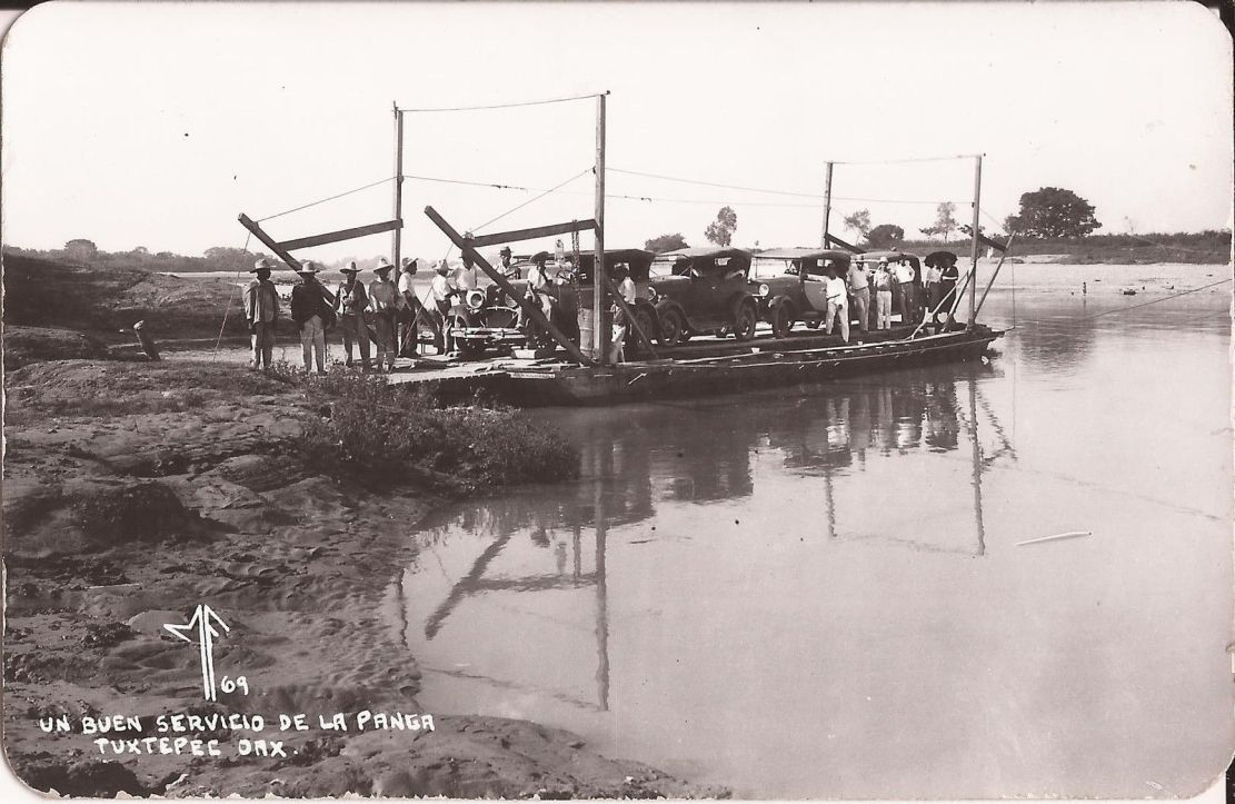 Model t ford forum old photo mexican automobile ferry 1920 39 s