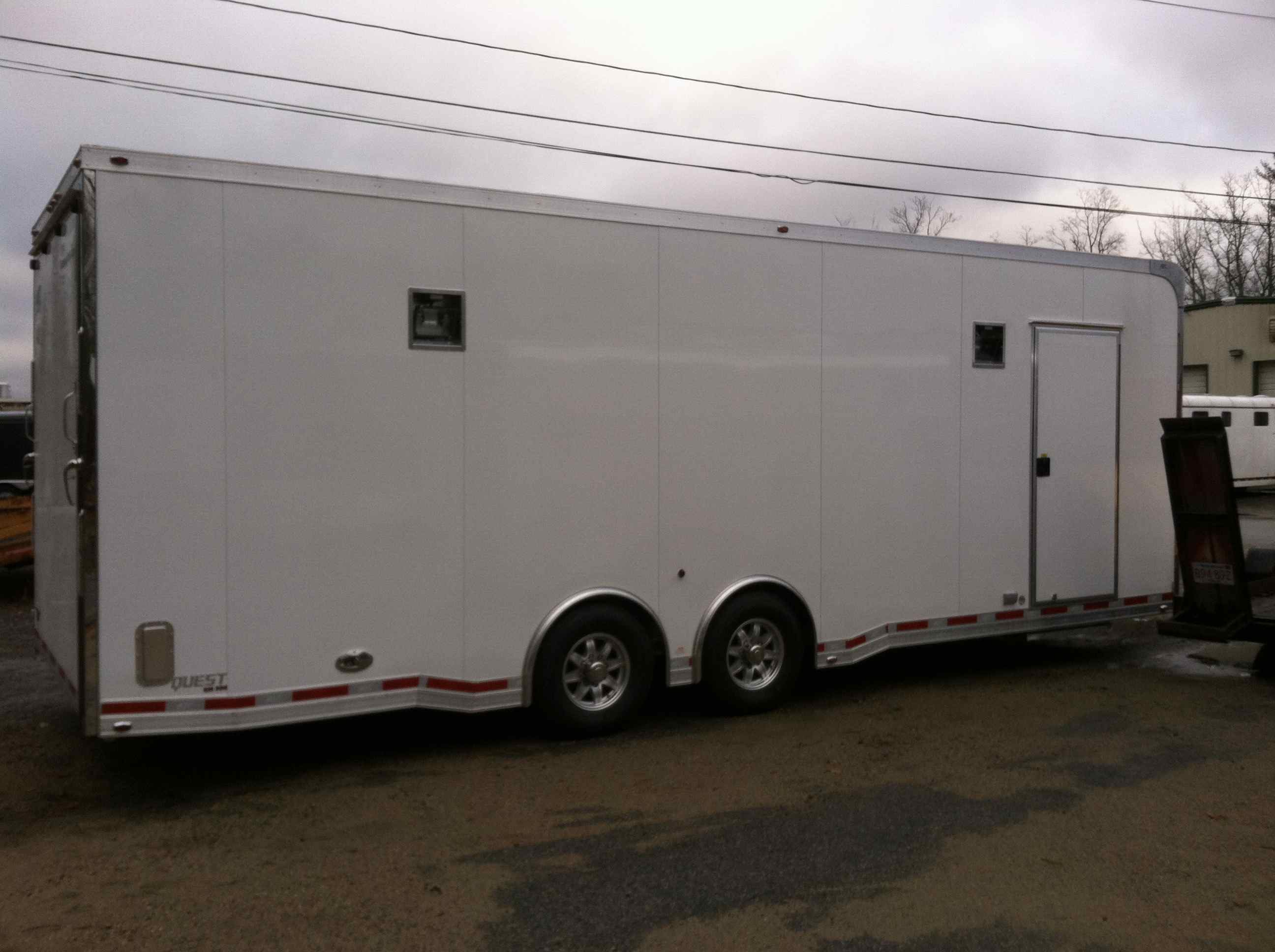 26' ATC all aluminum trailer