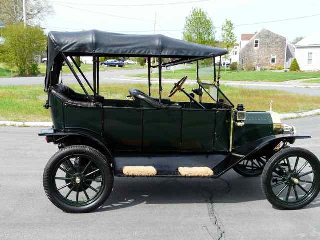 One of my Brass era cars 1913 - T