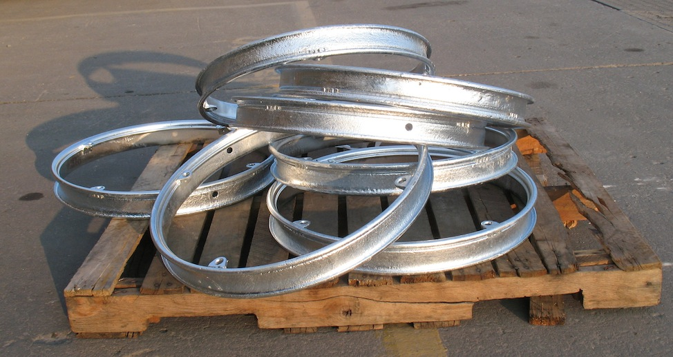 Model T Ford Forum: Powder Coated Rims