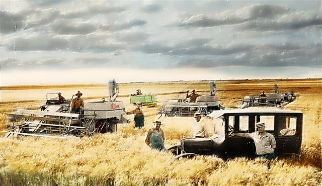 gleaner colorized
