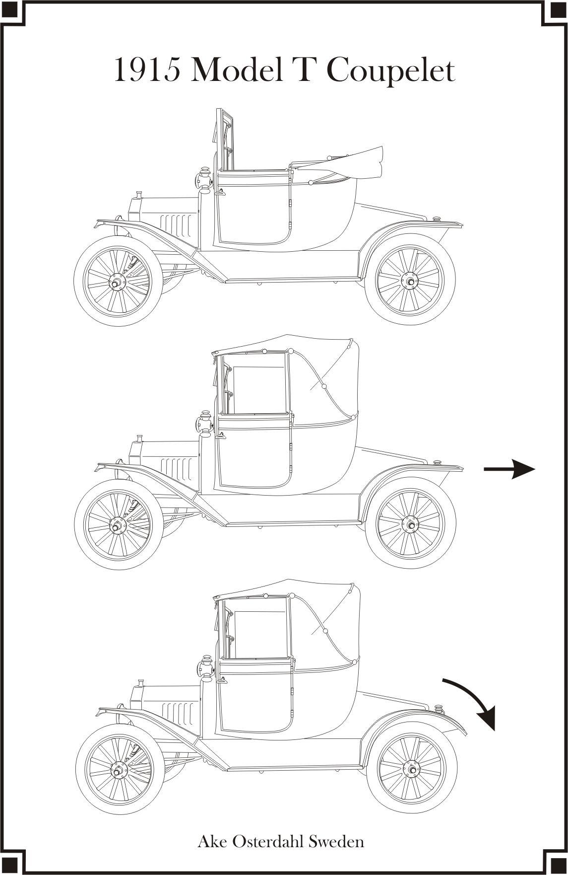 1915 Model T Coupelet