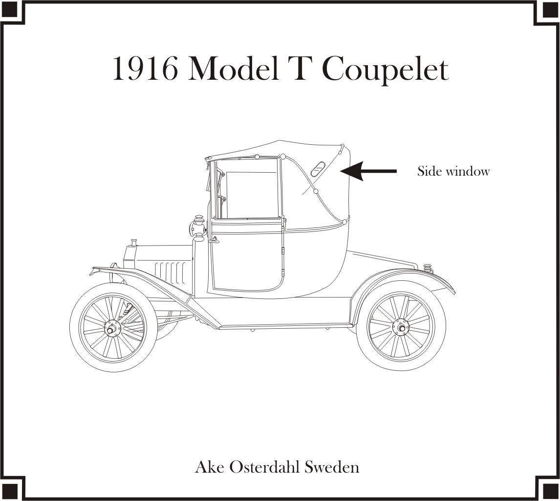 1916 Model T Coupelet
