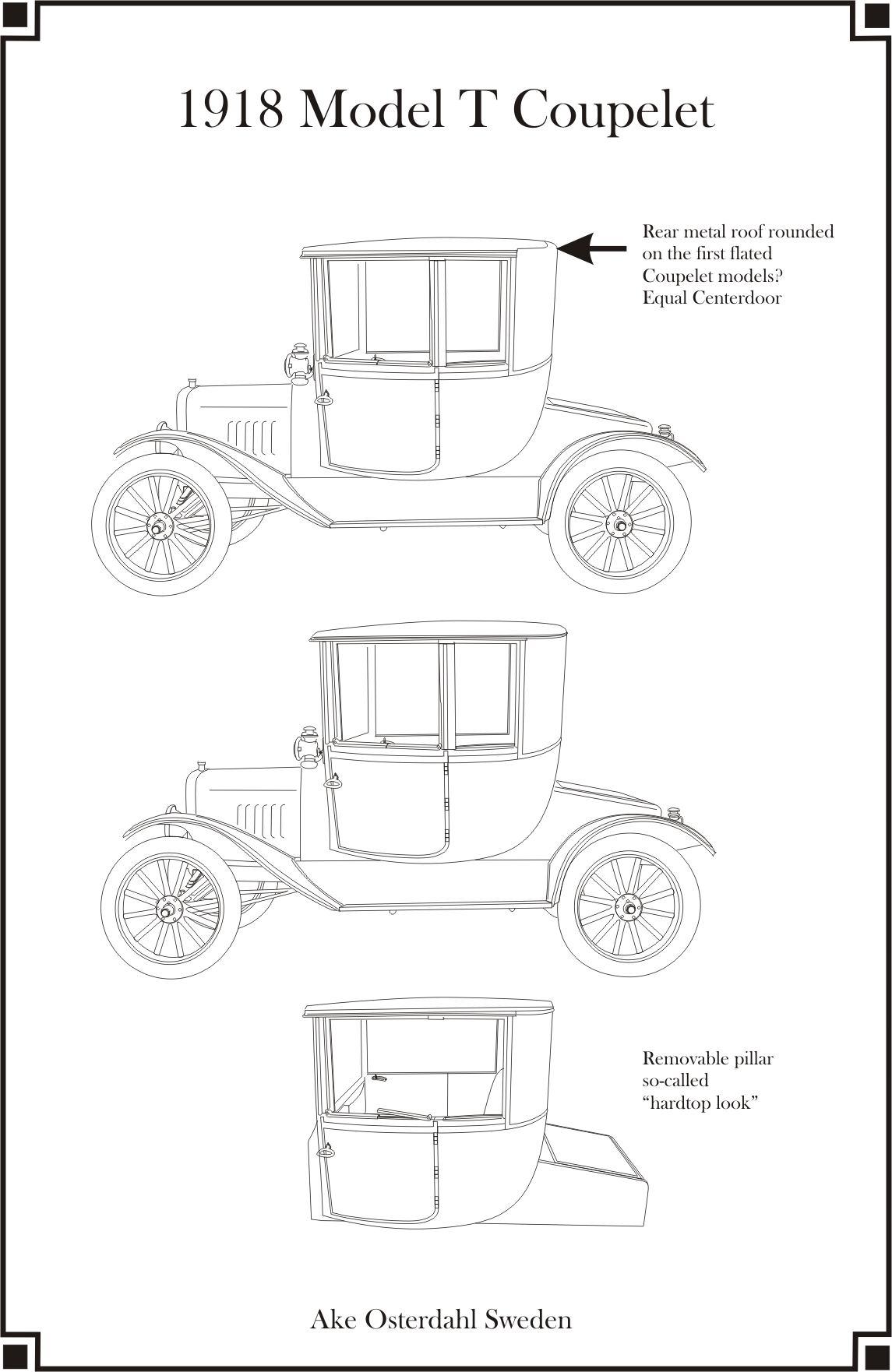 1918 Model T Coupelet