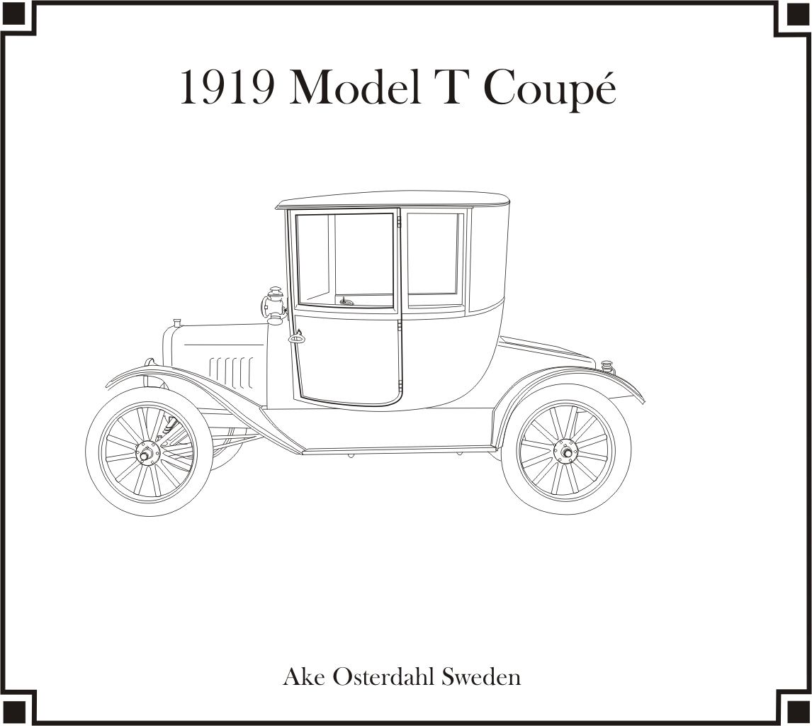 1919 Model T Coupé