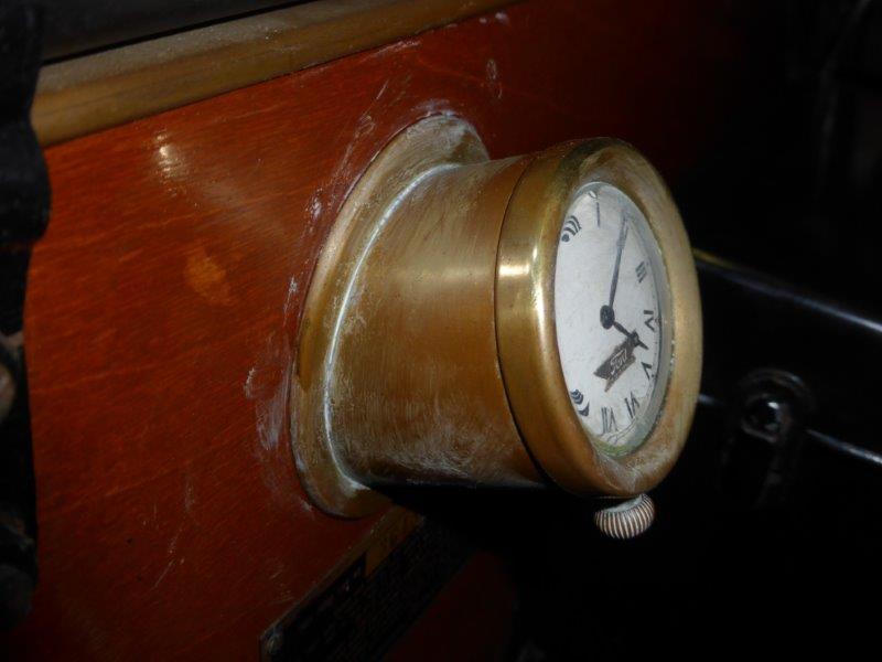 Ford Script Clock side