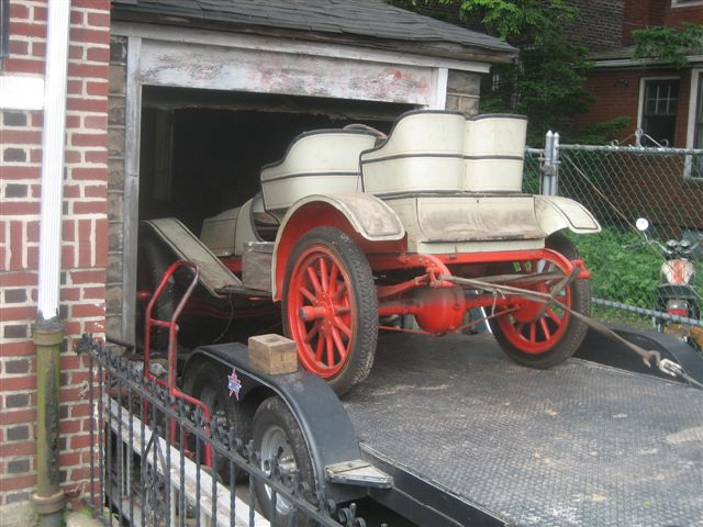 1908 Aerocar Model E just unearthed