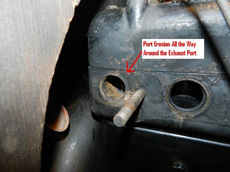 Exhaust Port Erosion