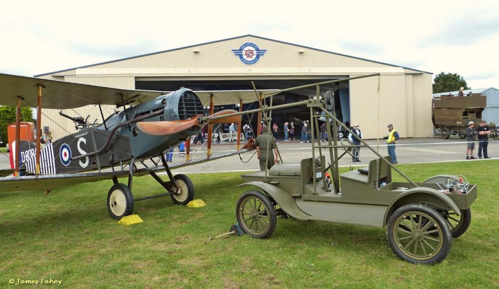 model T airplane starter