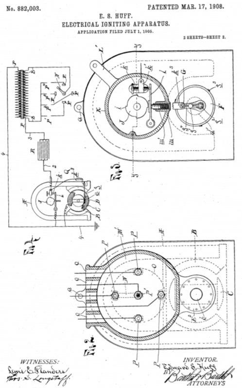 henry ford model t diagram