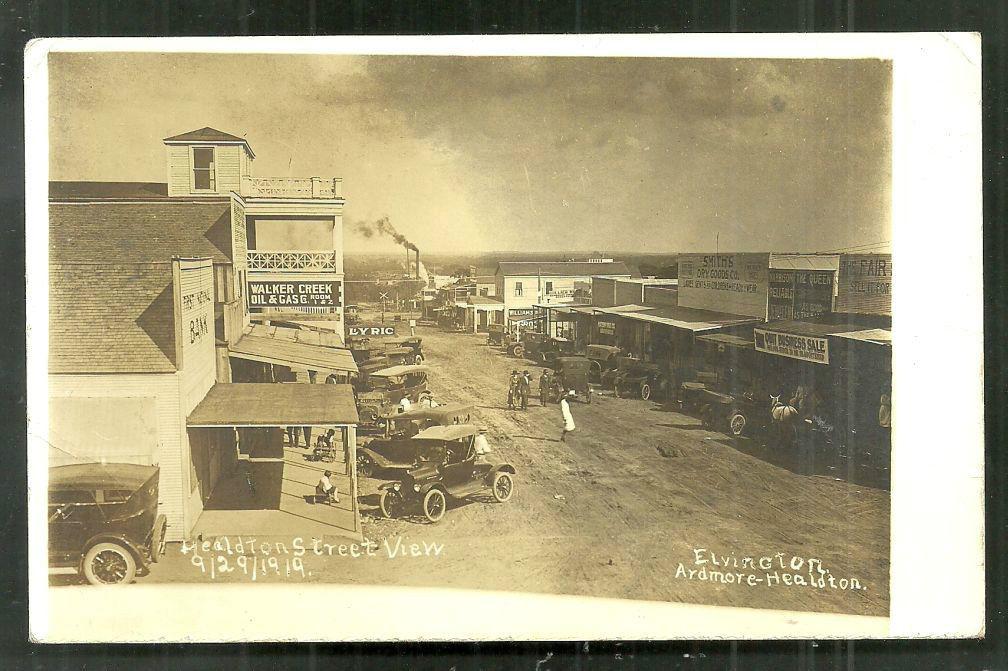 Model T Ford Forum: Healdton-Ardmore OK street scene-Photo