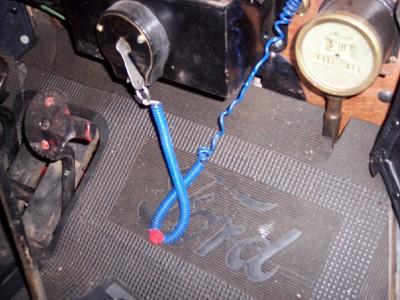 Dave Huson's key