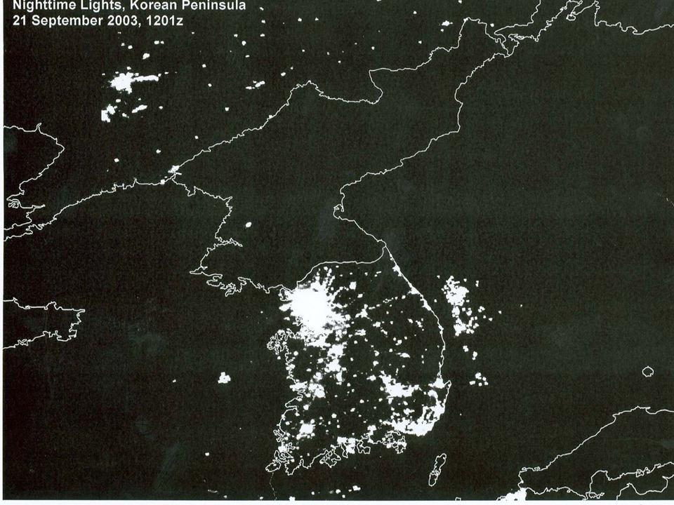 night in Korea