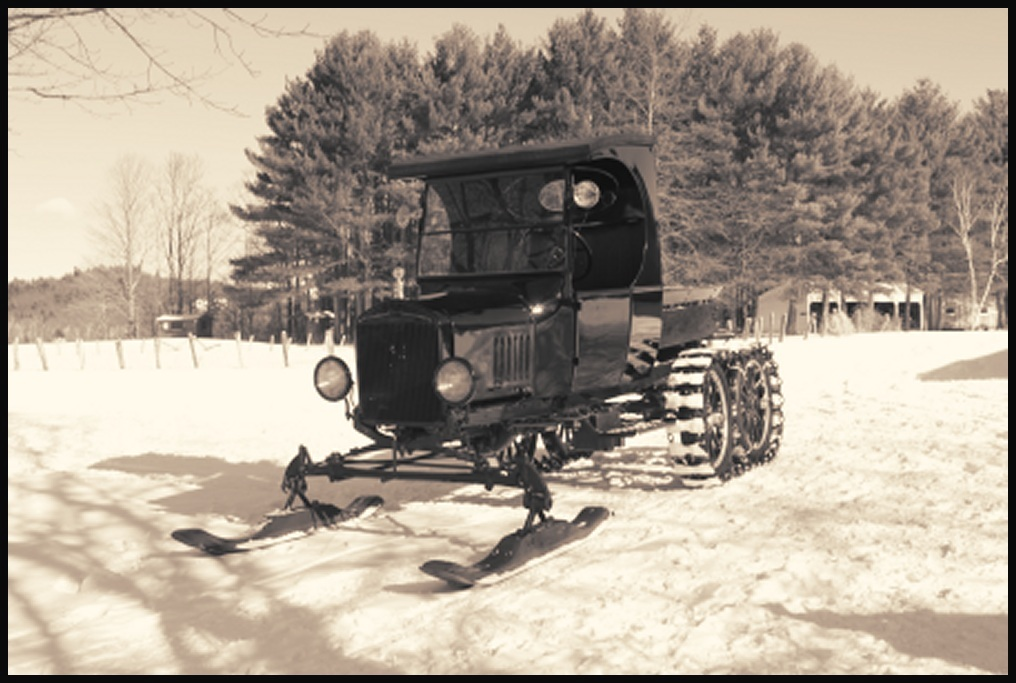 Model T TT C Cab Truck Snowmobile