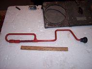 oil pan tool