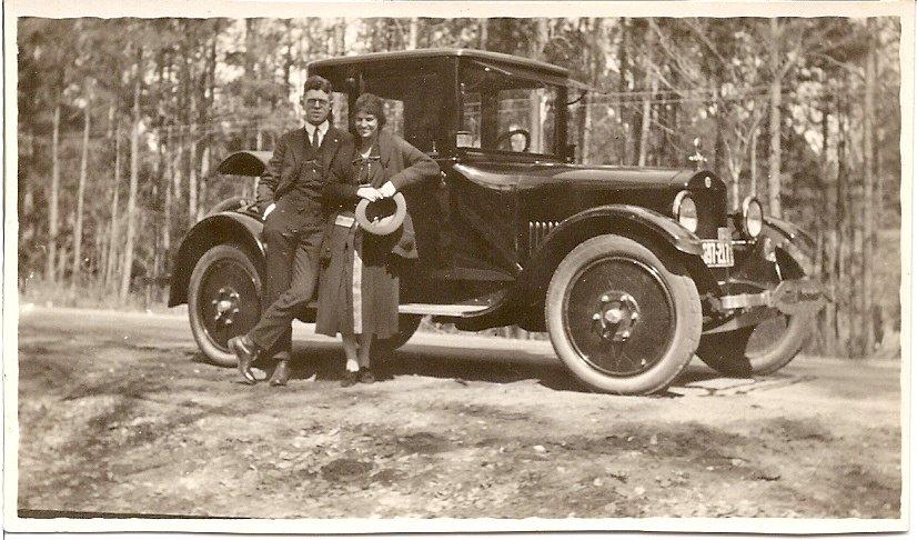 Grandparents first car?
