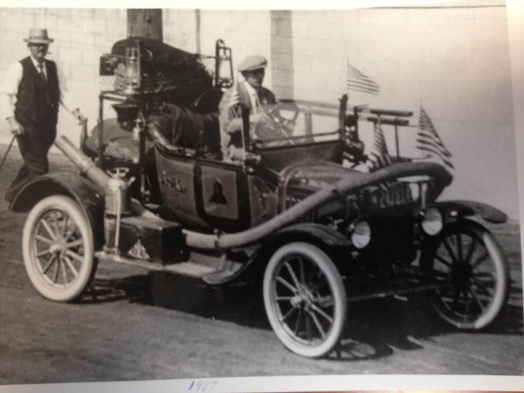 New 1917 Model T Howe Fire Truck