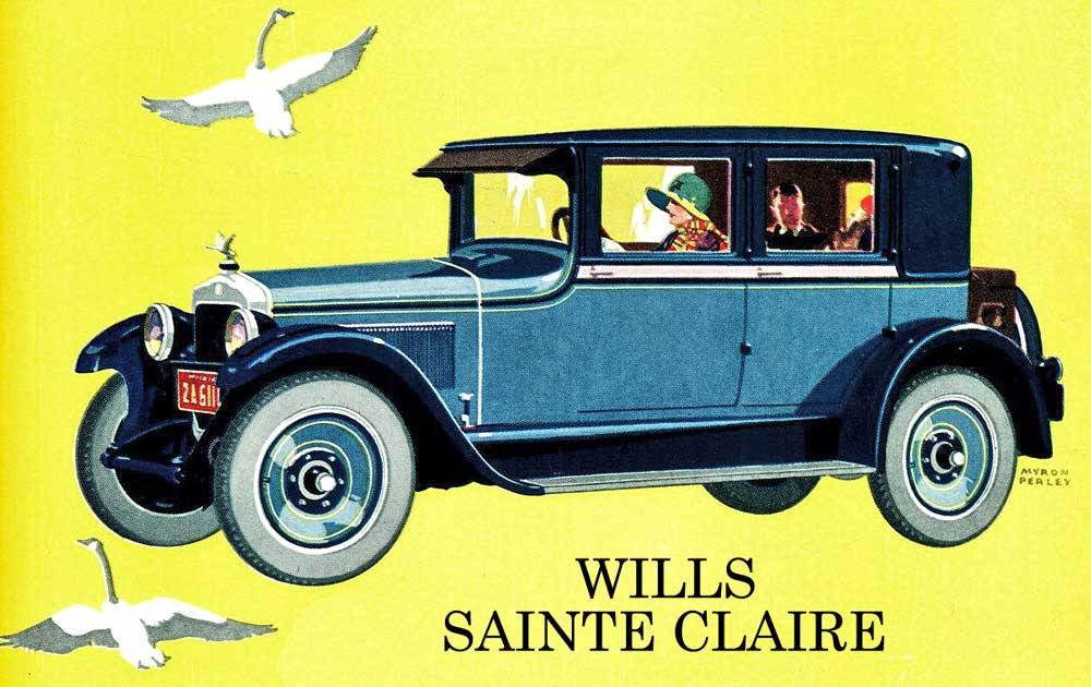Model T Ford Forum: OT - The Wills Sainte Claire – The Story About ...
