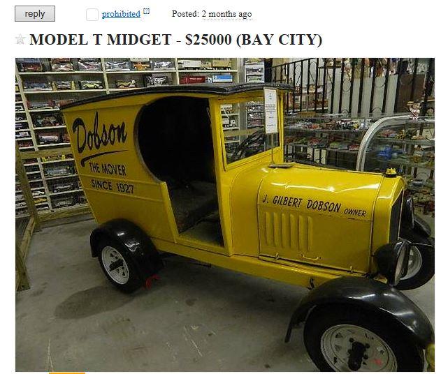 Model T Ford Forum: Craigslist Super Deal