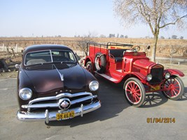 '50 Ford and '21 TT Ford