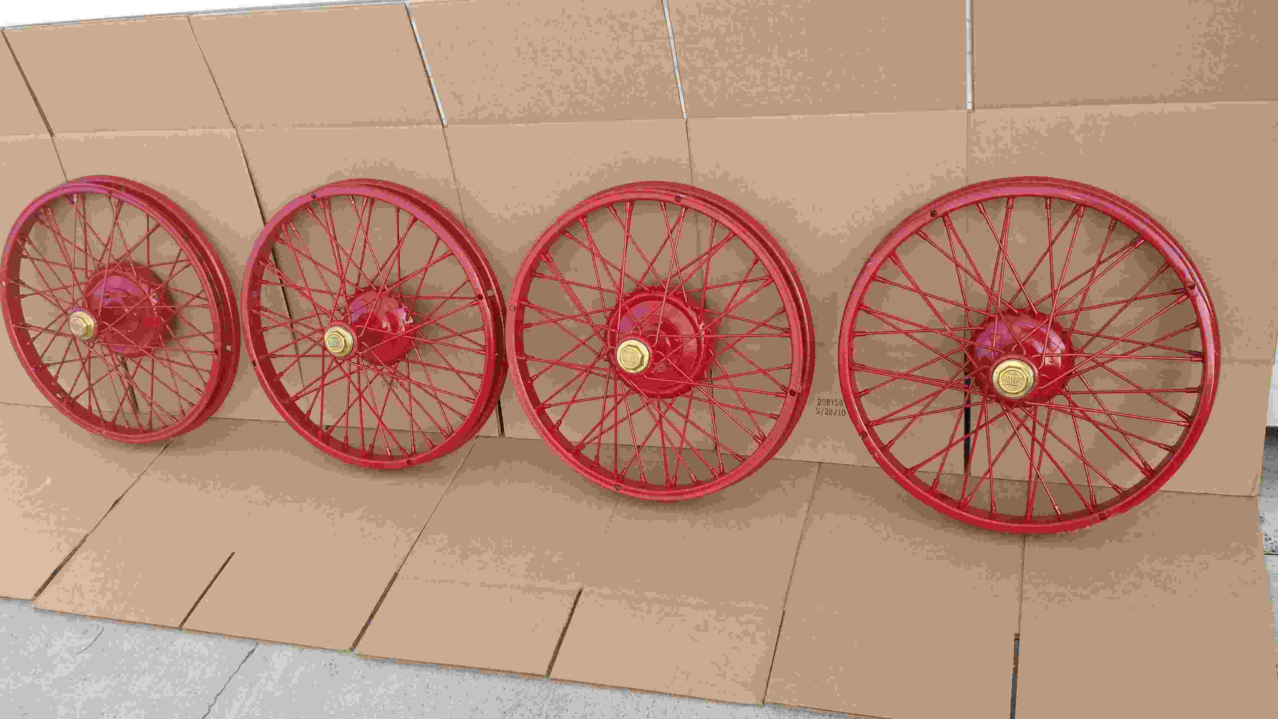 Hayes Wire Wheels front side
