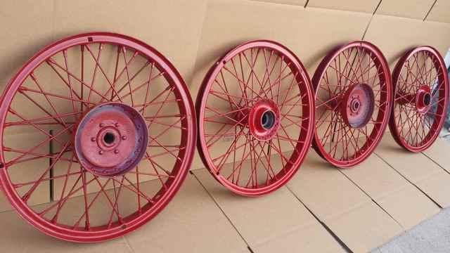 Hayes Wire Wheels back side