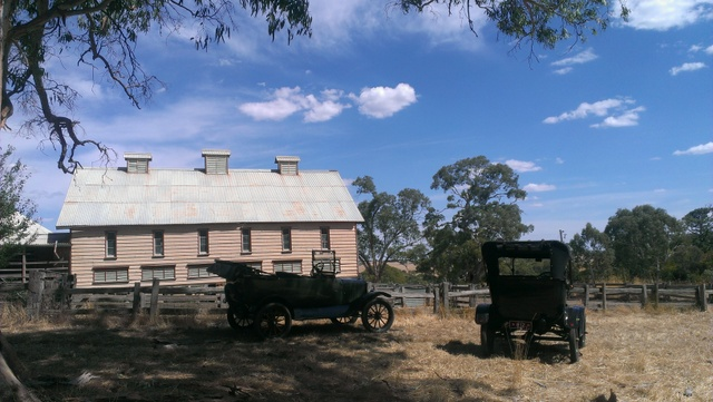 120 year old shearing shed