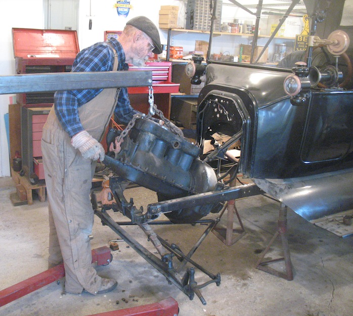 Model T Ford Forum: ENGINE REMOVAL..Step-by-Step Procedure