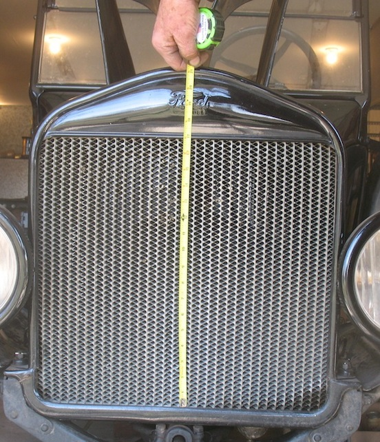 Model T Ford Forum 26 27 Low Or Tall Grill Shell