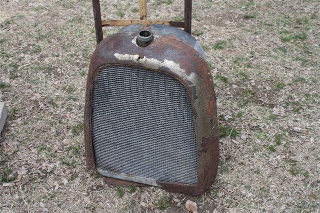 28 whippet radiator