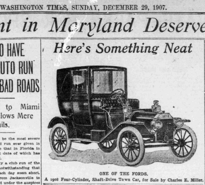 model t advertisement 1920