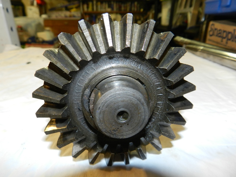 Right Axle Gear Teeth