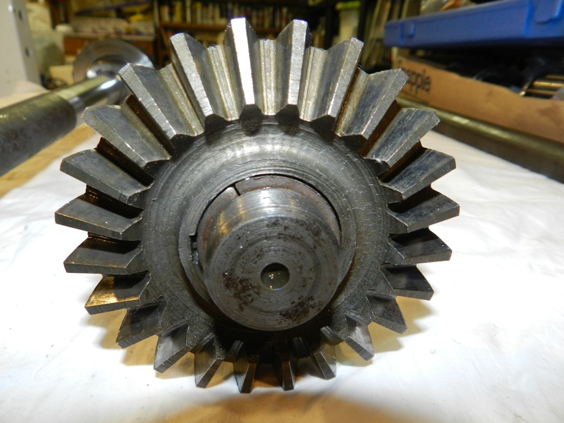 Left Axle Gear Teeth