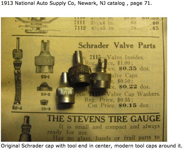 valve stem cap