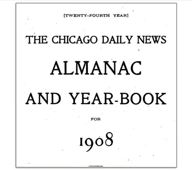 """Almanacs Yearbooks: 1907 """"The Automobile"""" Price And"""